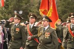 Парад Победы 2000 г. в Биробиджане